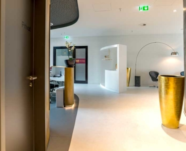 Flur - Klinik -Mannheim
